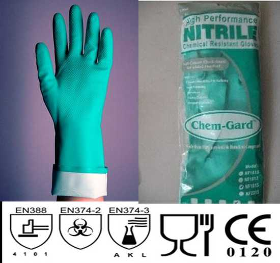 Combo 3 đôi găng tay chống dầu nhập khẩu Malaisia
