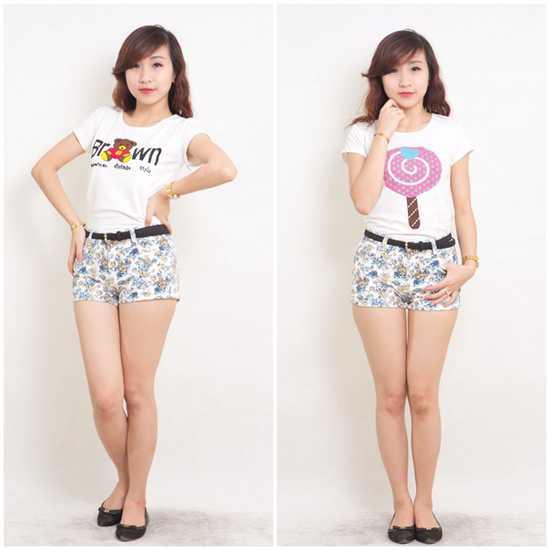Combo 2 áo phông cực xì teen và trẻ trung
