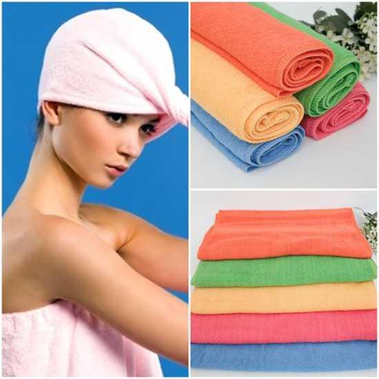 Combo 03 khăn tắm hè mềm mại