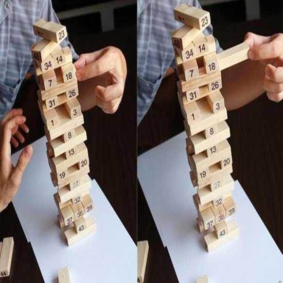 Bộ đồ chơi rút gỗ hấp dẫn - Thỏa thích vui chơi cùng bạn bè, người thân