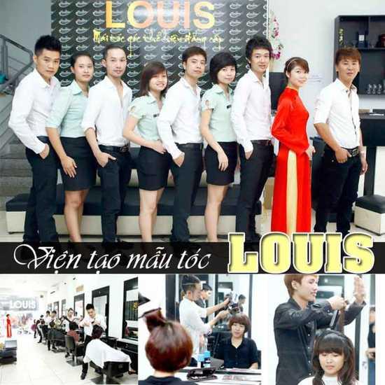 Trọn gói làm tóc tại Viện tạo mẫu tóc Louis