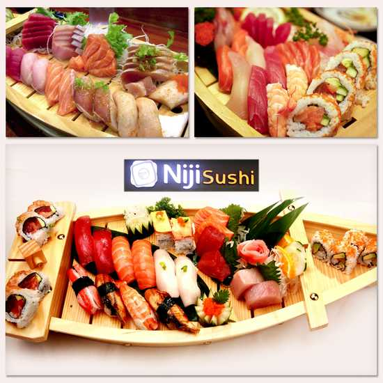 Buffet thỏa thích tại Niji sushi