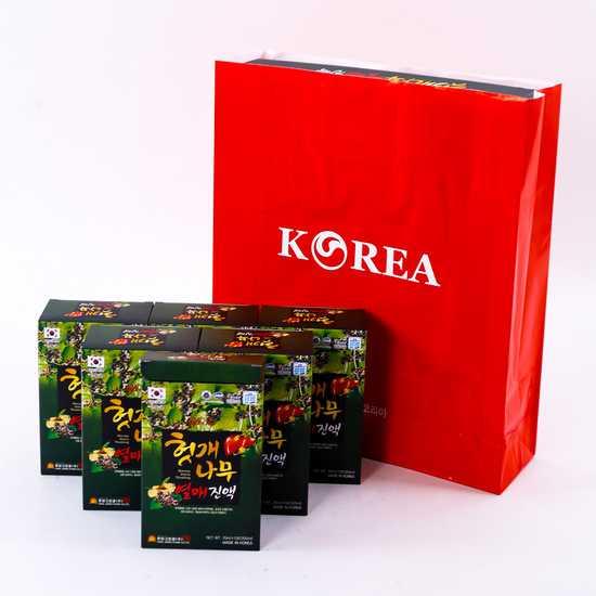 Nước bổ gan Hovenia Hàn Quốc - giải rượu ngày Tết
