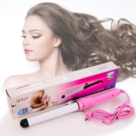 Máy làm xoăn giúp bạn thay đổi kiểu tóc mỗi ngày