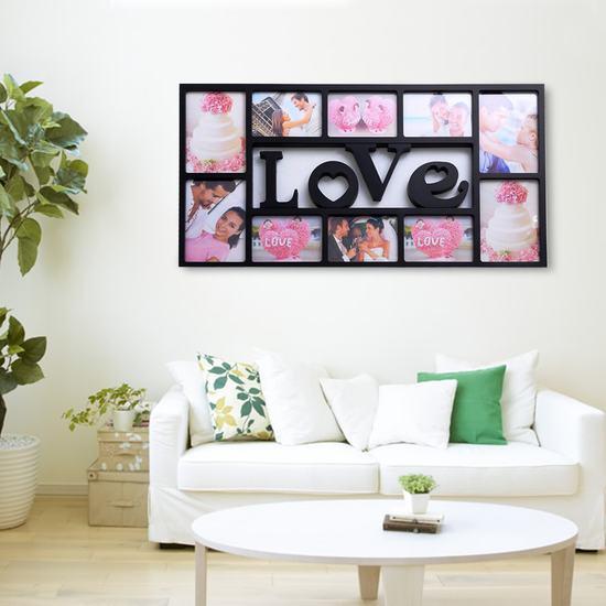 Khung ảnh treo tường Family hoặc Love độc đáo