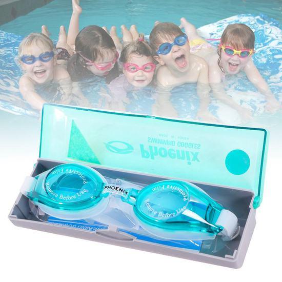 Kính bơi chống nước vào mắt có hộp đựng tiện dụng