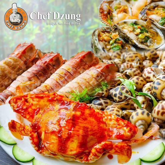 Buffet lẩu nướng không khói - Nhà hàng Chef Dzung