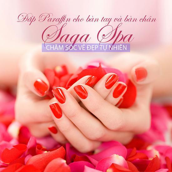 Gói Đắp Paraffin cho bàn tay và bàn chân tại Saga Spa