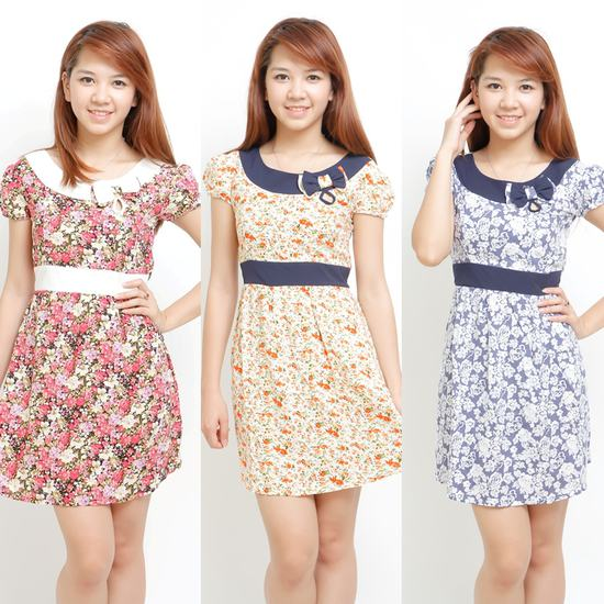 Váy lanh dịu dàng cho mùa hè tươi mát