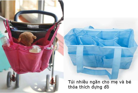 Túi xách cho mẹ và bé - cho bạn thỏa sức đựng đồ của bé để mang theo - chỉ 65.000đ