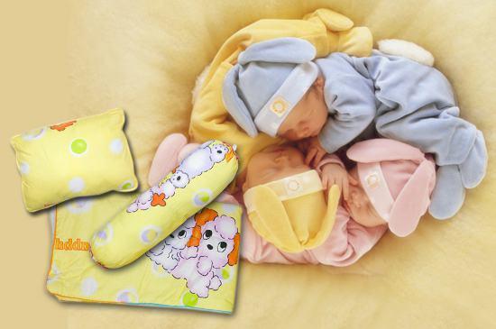 Bộ sản phẩm: Nệm chống thấm + gối nằm + gối ôm, nâng niu giấc ngủ cho bé yêu của bạn - Chỉ 250.000đ/bộ