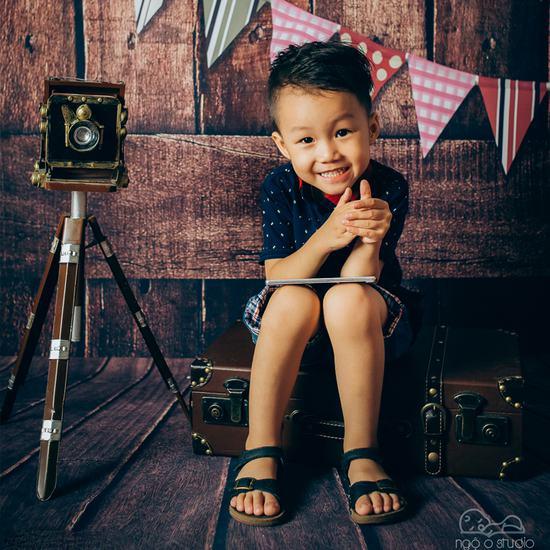Gói chụp ảnh hấp dẫn cho bé tại Ngộ 0 Studio