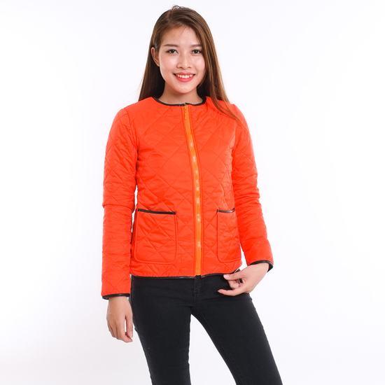 Áo phao nữ chần trám nhiều màu - hàng Việt Nam