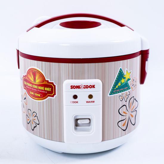 Nồi cơm điện Sonicook 1.2L Công nghệ Nhật Bản