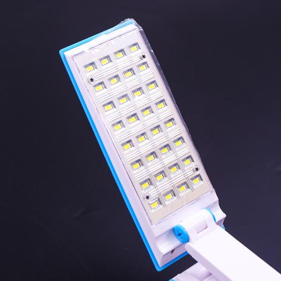 Đèn led gập tích điện 32 bóng nhỏ gọn