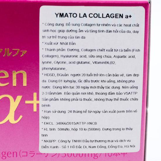 Nước uống YMATO LA COLLAGEN A+ NK Nhật Bản