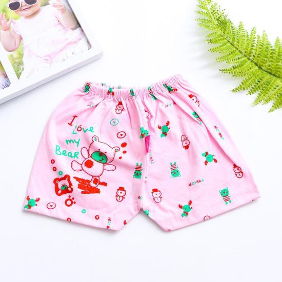 Combo 10 quần đùi cotton cho bé
