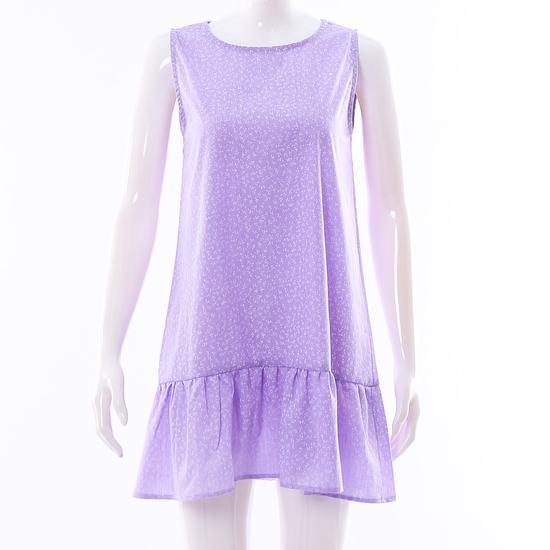 Váy dáng chữ A đuôi cá hoa nhí điệu đà cho bạn gái