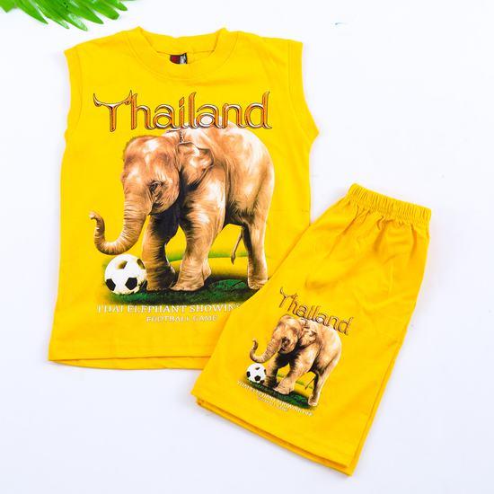 Bộ ba lỗ quần đùi bé trai hàng Thái Lan