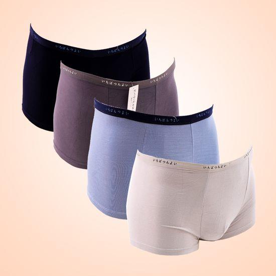 Combo 4 quần sịp đùi Nhật chất cotton thoáng mát