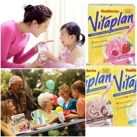 Sữa Healtheries Vitaplan hộp 500gr từ New Zealand - Giàu Canxi, giàu dinh dưỡng, thơm ngon bổ dưỡng- Chỉ 235.000đ
