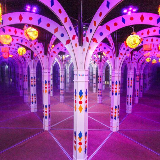 Vé khám phá mê cung Mirror Maze - Times City