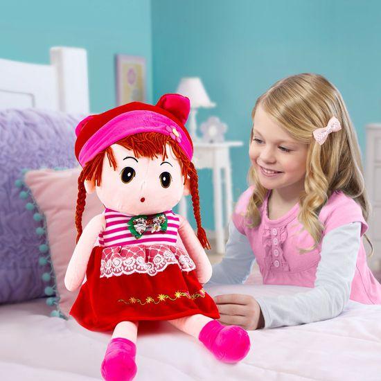"""Cô gái tóc sam nhồi bông - Bé gái """"thích mê"""""""