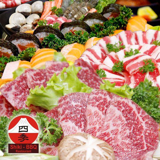 Buffet nướng và lẩu Nhật - Hàn tại NH Shiki BBQ