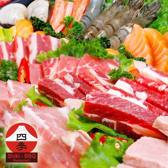 Buffet nướng lẩu Nhật Bản Shiki BBQ- Không phụ thu
