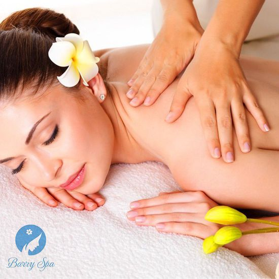Massage body kết hợp giảm béo bụng cao tinh nhiệt