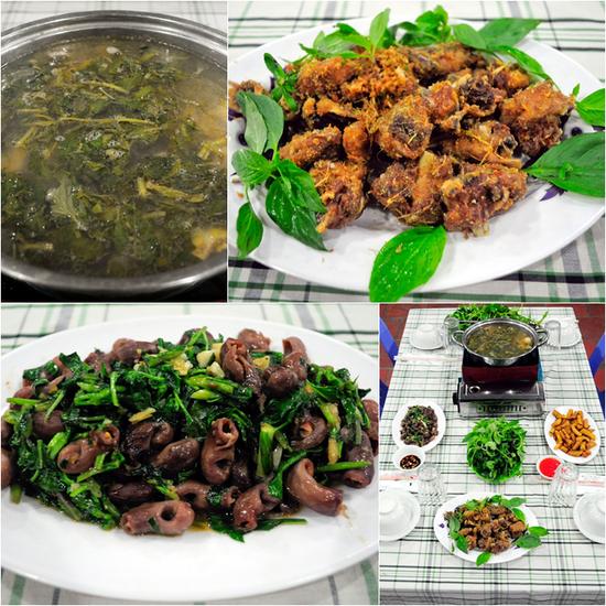 Set ăn Vịt cỏ Vân Đình tại Nhà hàng gà tươi Minh Thắng - Chỉ 264.000đ