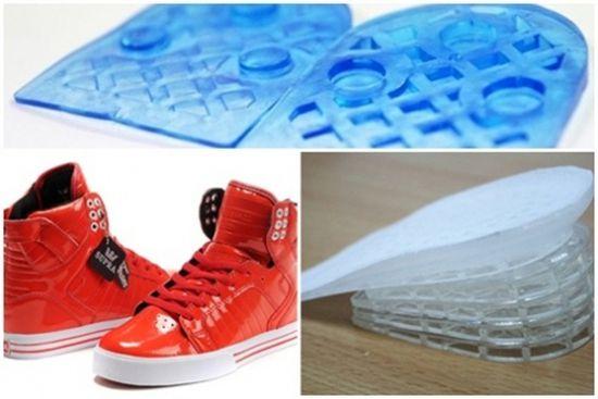 Tuyệt chiêu tăng chiều cao với Lót giầy silicon đặc biệt - Dành cho cả nam và nữ - Chỉ với 75.000 đồng