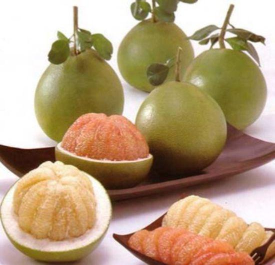 Combo 2 quả bưởi da xanh Biên Hòa ( loại 1,2kg-1,5kg)