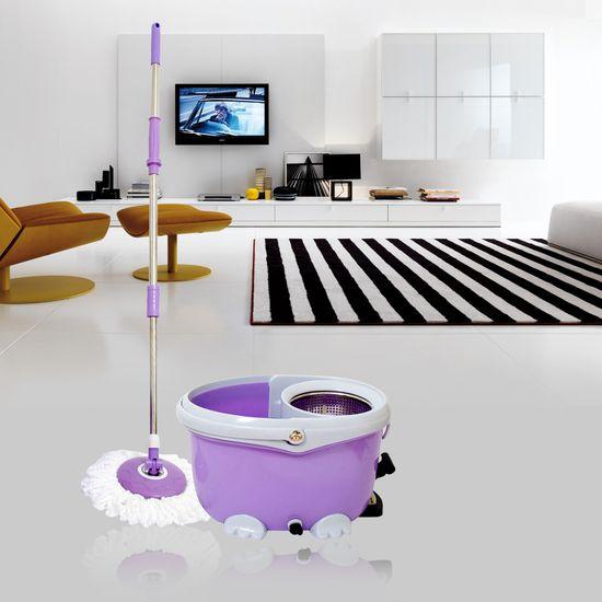 Cây lau nhà 360 độ Easy Mop lồng Inox cao cấp