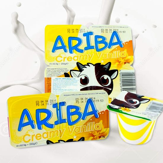 Combo 05 vỉ váng sữa Ariba