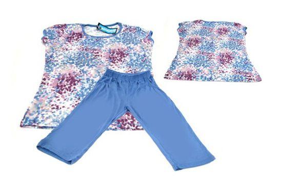 Bộ đồ mặc ở nhà chất liệu cotton mềm mại, thoáng mát cho bạn nữ - Chỉ với 75.000đ