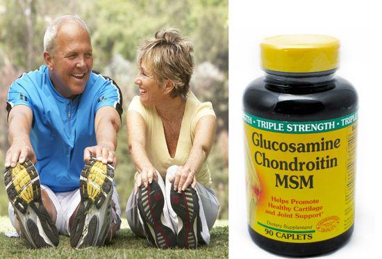 Thực phẩm chức năng Glucosamine Chondroitin MSM từ Mỹ - tăng cường sự khỏe mạnh cho các khớp xương - chỉ 384.000đ