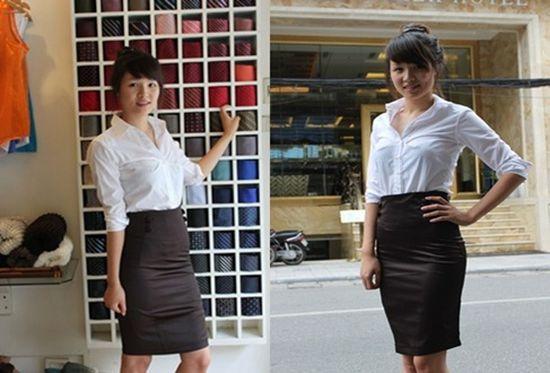 Chân váy thời trang công sở cao cấp - Lịch sự mà không kém phần gợi cảm và quyến rũ - Chỉ với 140.000đ/chiếc