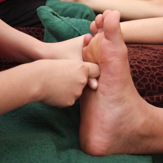 90' massage body & foot massage tinh dầu thảo dược