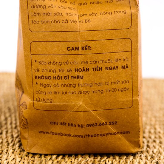 Thảo mộc lợi sữa từ thuốc nam MotherLand