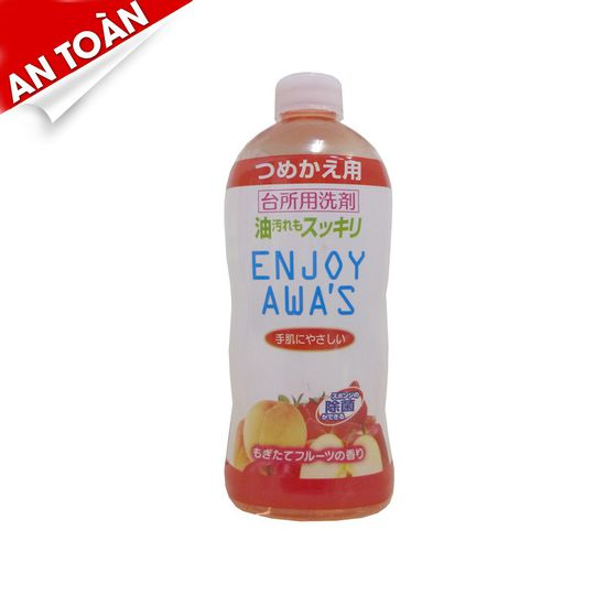 Nước rửa chén enjoy awa's hương trái cây 400ml