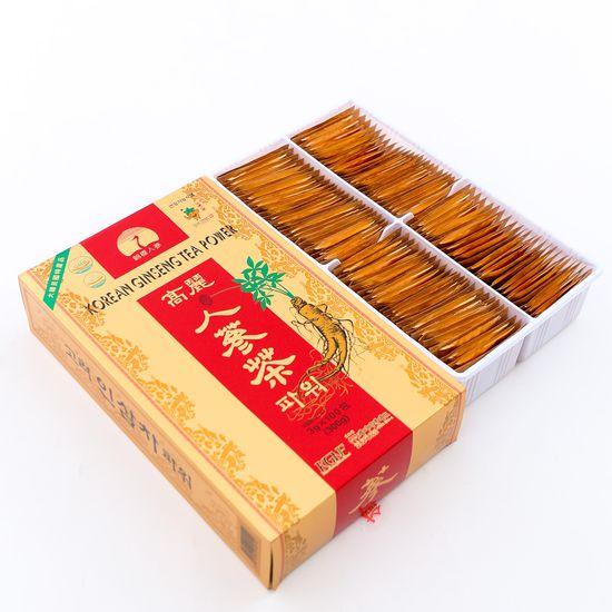 Trà sâm Hàn Quốc nhập khẩu (Hộp 3g x 100 gói)