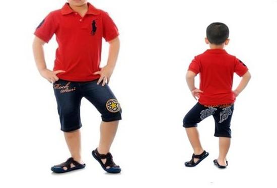 Áo phông có cổ cho bé trai đi học, đi chơi - Chỉ với 75.000đ