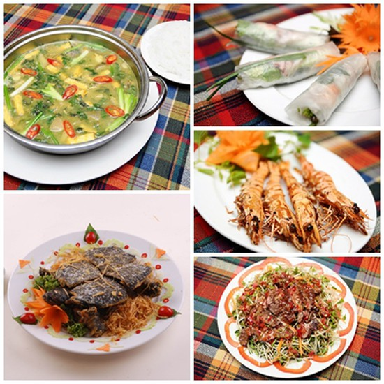 Set ăn thơm ngon, độc đáo tại Nhà hàng Núi Tản - Chỉ 608.000đ
