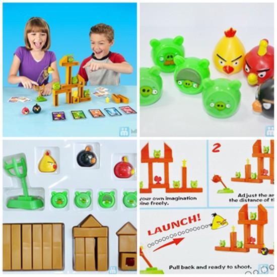 Bộ đồ chơi Angry Birds - Bộ đồ chơi vui nhộn tặng bé yêu của bạn vào ngày tết trung thu - Chỉ 93.000đ/01 bộ