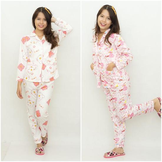 Bộ Pyjama dễ thương cho bạn gái