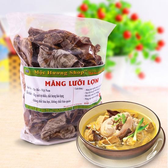 Măng lưỡi lợn khô đặc sản Tây Bắc loại 1kg