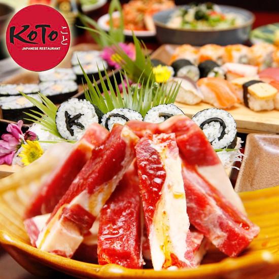 Buffet lẩu nướng Nhật Bản Nhà hàng Koto BBQ Sushi