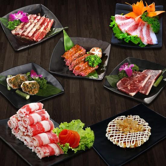 Buffet nướng lẩu không khói Osaka BBQ thêm món mới