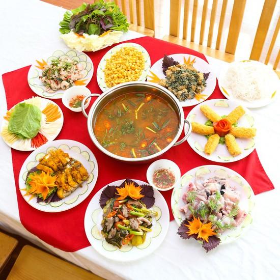 Set cá lăng nhiều món 4-6 người- Nhà hàng Vương Đô